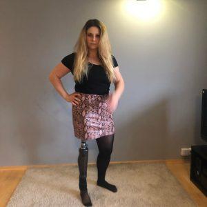 Eva Amputee: Sexy leg's !